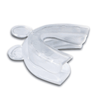 Boil and bite teeth whitening trays.