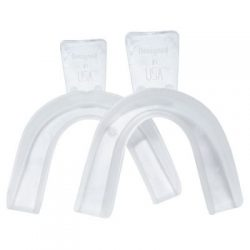 Boil and bite teeth whitening trays